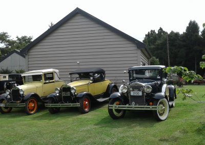 Model A Ford Club visit