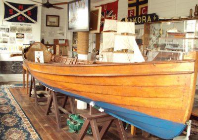 Victorian skiff