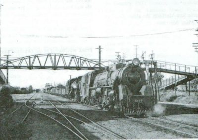 This is the Railway Foot Bridge that is now at the Historical Maritime Park.
