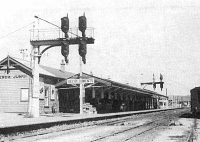 Paeroa Station in happier days